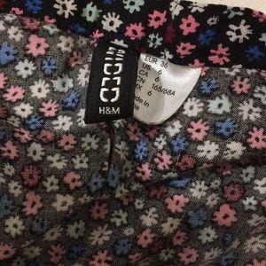 H&M Skirts - Floral Skater Skirt